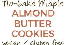 almond butter cookies / almond butter cookies