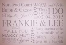 ♡ Personalised Bridal / Wedding Products / www.hunnibunniboutique.co.uk