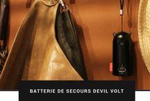 Batterie de secours Devil Volt #Emie / Devil Volt est le diable survolté qui vous permet de recharger votre appareil mobile où que vous soyez. Entièrement compatible avec iPhone, Samsung et autres appareils mobiles. prix :36.99€ #emie #chargeurdebatterie #iphone #artconnect