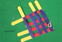 Popsicle stick crafts
