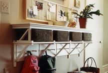 Entry way Ideas / by Becky Loyall