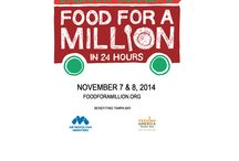 Zach Bonner's Food For a Million / Zach Bonner's project to break the Guinness Book of World Record's largest food drive in 24 Hours / by Metropolitan Ministries