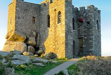 DAY TRIPS - REDRUTH, Cornwall / Redruth & area to include Carn Brea, Scorrier.  About 67 miles (1 hrs 37 mins drive) from us