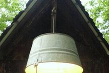 Lampshades / Various lampshades