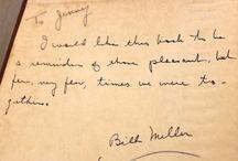 Previous owner inscriptions / Book inscriptions