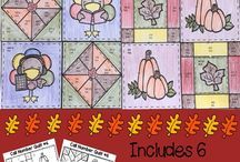 Thanksgiving in the Elementary Classroom / Thanksgiving ideas, resources, and arts and crafts in the elementary classroom for teachers and students.