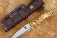 The TBS Boar Fixed Blade Knife / The Boar is the most popular knife we do and it is available in various formats. It is produced in Stainless Steel or Carbon Steel and is handled in either Curly Birch, Turkish Walnut or Natural Micarta. It also features many different sheath options and accessories making it the most versatile model in the TBS range.