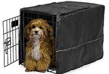 Puppy Apartment Covers / We offer three varieties of Puppy Apartment Crate Covers. Please visit our website for more details: ModernPuppies.com