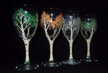 Glas, Glasmalen, Glasmalerei / Glas, Glasmalen, Glasmalerei