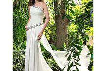 Grecian style weddingdress