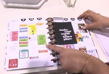 Create 365™ - The Happy Planner™ / The Happy Planner™ is an expandable, disc bound planner system that combines your love for creativity with your need for organization. This board features products and inspiration from The Happy Planner™ line. / by me & my BIG ideas