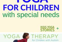 Yoga Therapy for Children / Resources for teaching yoga and mindfulness to children with special needs.