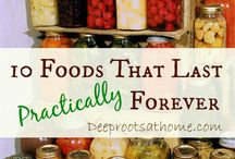 Preserving and Storing Food / How to preserve all kinds of food, vegetables, herbs, meat and dairy  and how to store them.