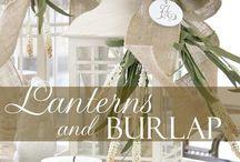 Lanterns / Ideas to decorate lanterns for any occasion/holiday / by Nayeli Gonzalez