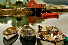 BoAtS,fiSh,wAter,cAbiN / by Rosemarie McAffee