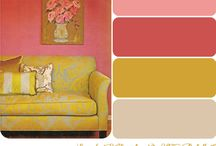 Funky Palettes for Interiors / Interesting colour combos