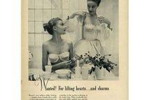 lingerie - 1950s
