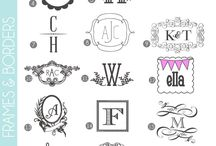 Monogram Obsession / by Mindy McDonald