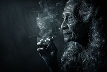 Portraits old woman