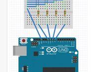 Projetos com Arduíno / Diversos projetos eletrônicos com Arduíno