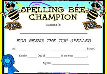 spelling bee decorations