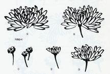 хризантемы китайская живопись