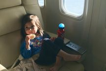 Flying with Babies & Kids / Tips on flying with babies and kids from the Luxe Recess moms who've flown well over a million miles.