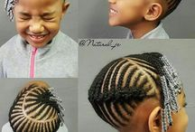 Kid braid styles