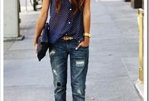 Jeans + Heels