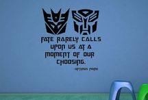 Transformers / by Chrissy B