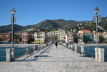 Alassio / A little  and charming ligurian village