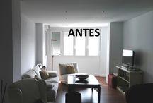 APORTAR FUERZA A LOS TONOS NEUTROS / Unos toques de amarillo reviven esta acogedora sala de estar.