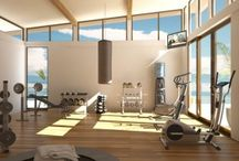 Home Gym & Steam Room