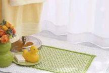dishcloths, bath mats and rugs - CROCHET