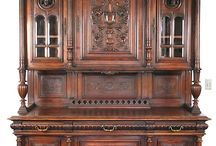 traditional crockery shelves