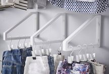 WALK IN CLOSET / Samlar inspiration till vår Walk in closet som snart ska byggas!