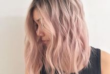 Hair pastel colour