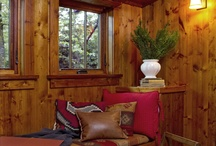 cabin ideas / by Tammy