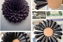 Project: Book Wreath. / by Samantha
