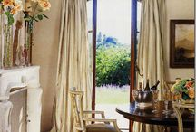 country french rooms in cream