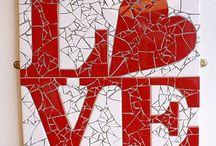 Quadros em mosaico