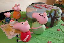 Peppa Pig Cakes / by Pat Korn