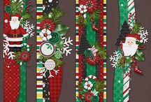 Christmas scrap pages