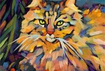 macskás festmények