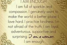 Affirmations / happy intentions