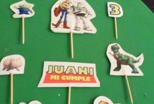 decoración torta facil para jardín de infantes