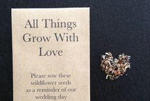Wedding seed gifts