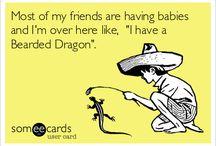Bearded dragons <3