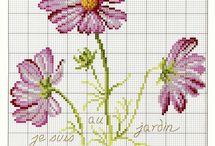 Cross stitch - floral