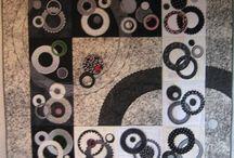 Zwart witte quilts